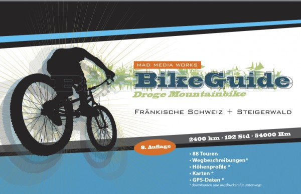 Bike Guide Fränkische Schweiz – 88 Mountainbike-Touren