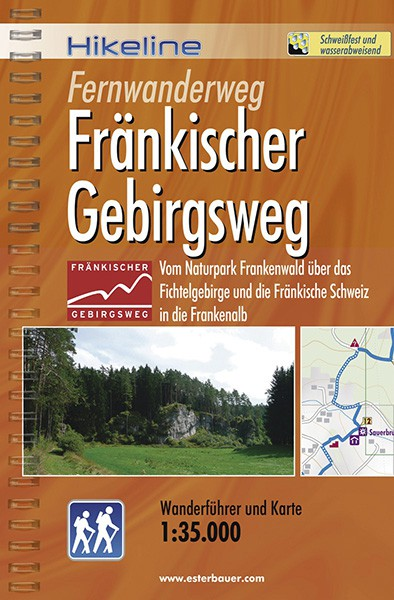 Wanderführer Fränkischer Gebirgsweg